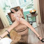 bai thong enjoys a vibrator in her love cave 11