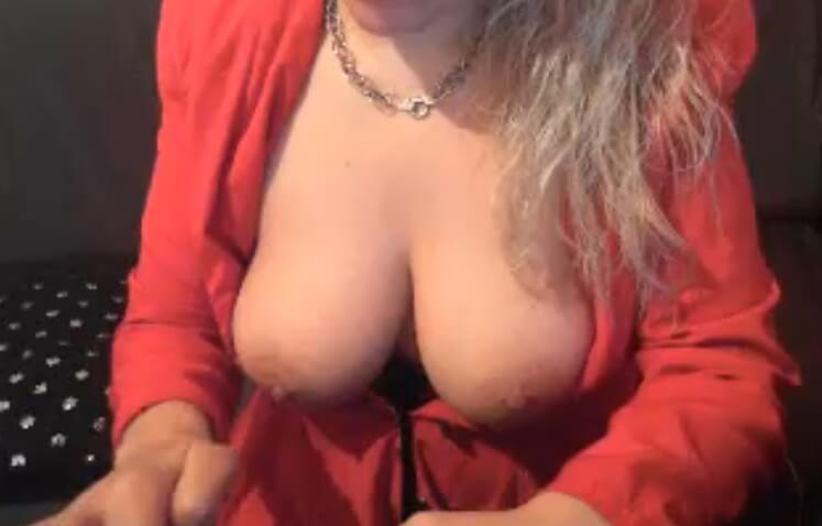 Blonde Trans Debra from the UK with big tits