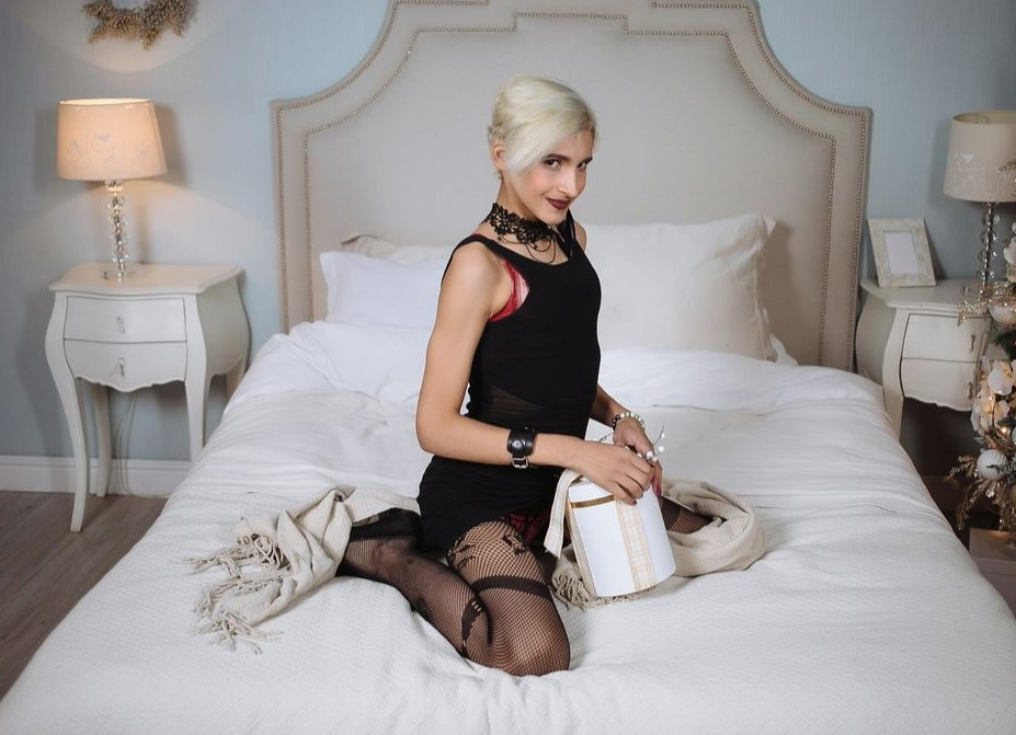 Today a Femboy for a live chat with superb Webcam